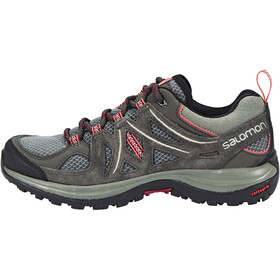 Salomon W's Ellipse 2 Aero Shoes Castor Gray/Beluga/Mineral Red